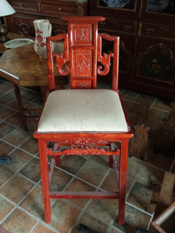 OFERTA SILLA ANTIGUA CHINA